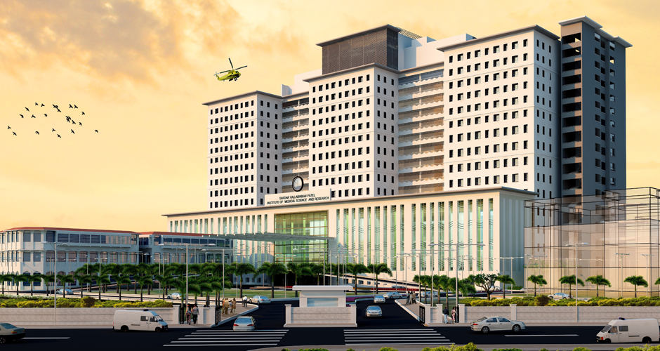 Awarded one of the largest of high speed elevators order for Asia's largest multi-specialty hi-tech hospital.